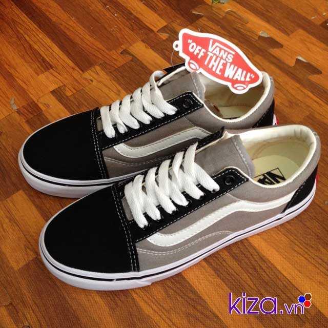 Giày Vans Old Skool màu xám đen 004