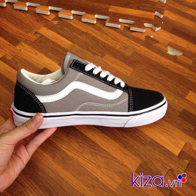 Giày Vans Old Skool màu xám đen 001