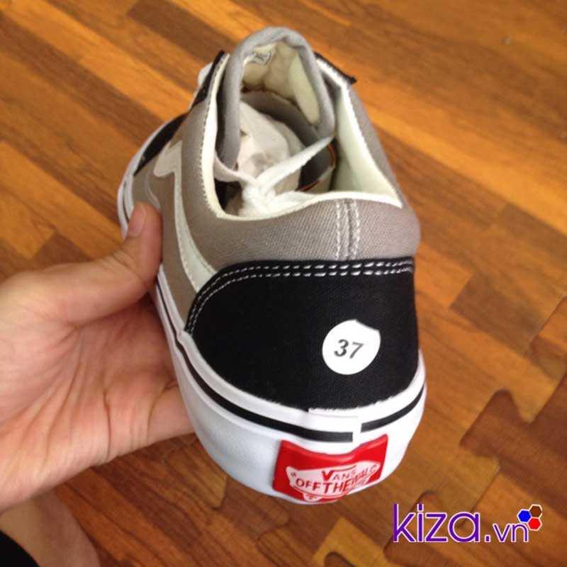 Giày Vans Old Skool màu xám đen 003