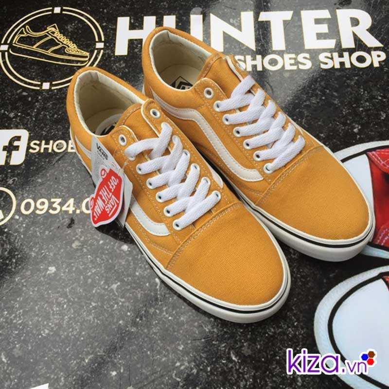 Giày Vans Old Skool màu vàng đẹp 006