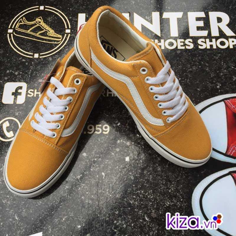 Giày Vans Old Skool màu vàng đẹp
