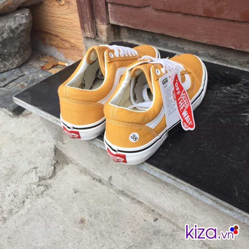 Giày Vans Old Skool màu vàng vnxk