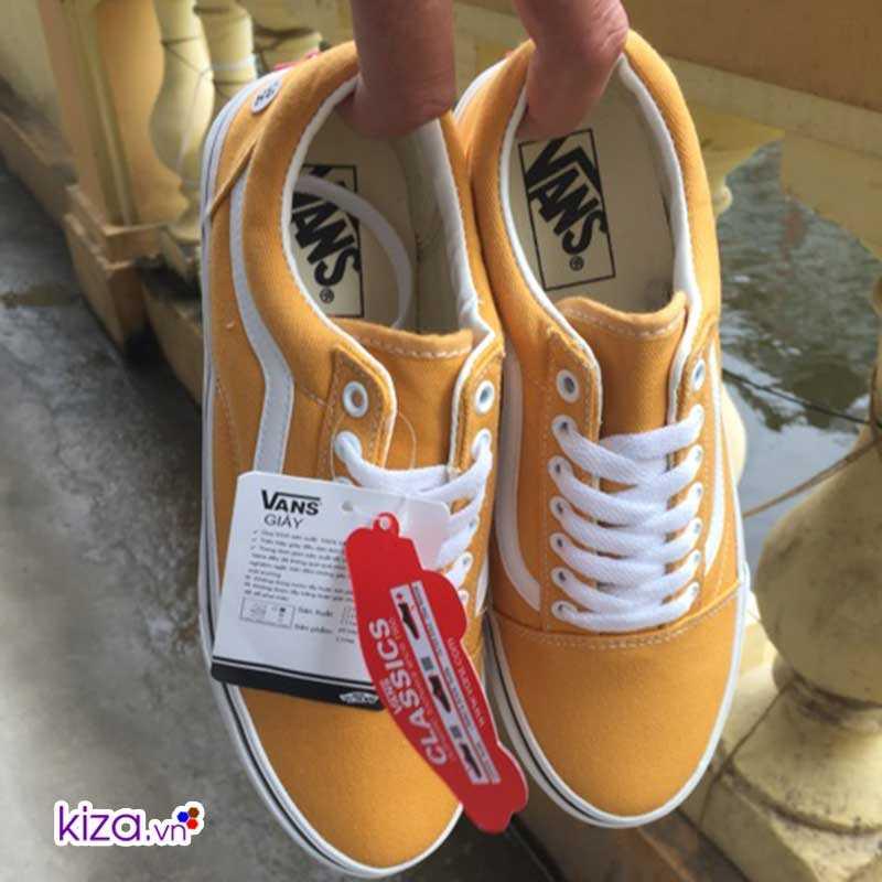 Giày Vans màu vàng